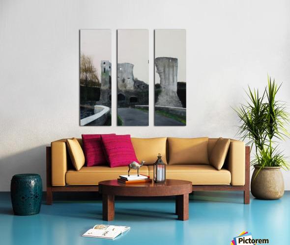 Mahee Castle Split Canvas print