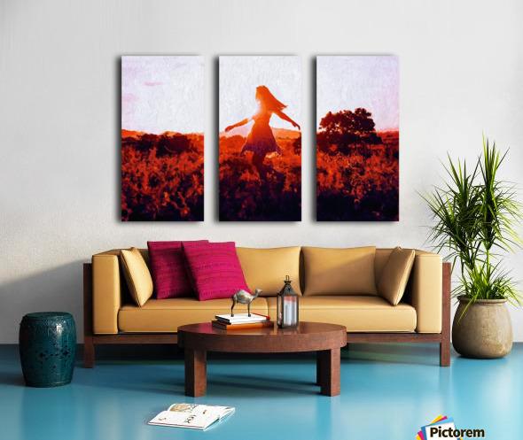 LaBelle Split Canvas print