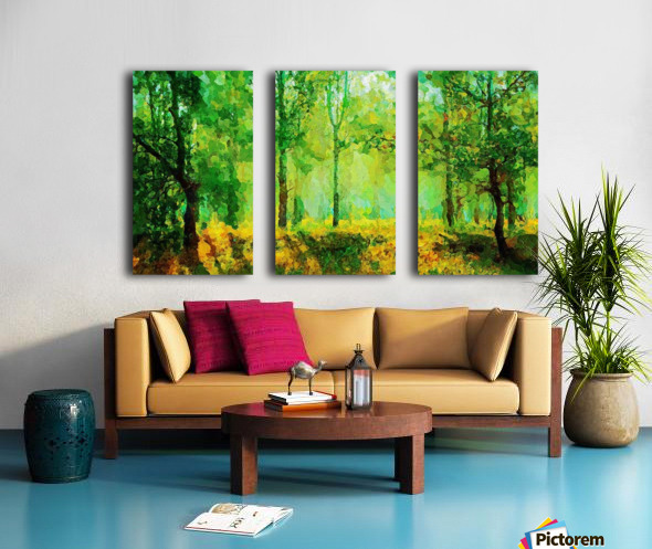 Welcome to the Jungle Split Canvas print
