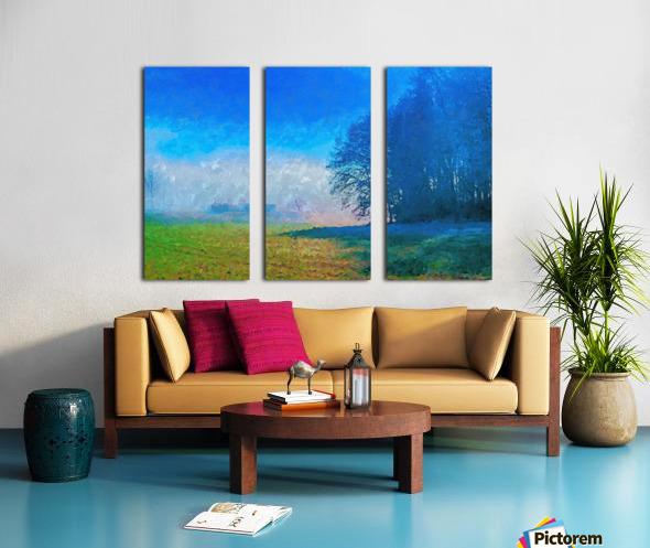 Smoky Mountain Split Canvas print