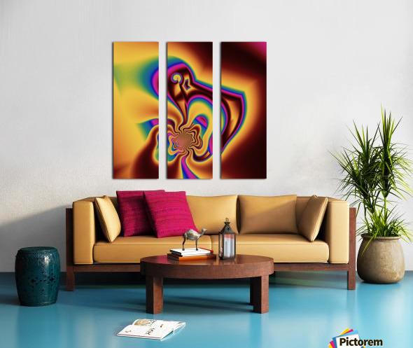Inception Split Canvas print