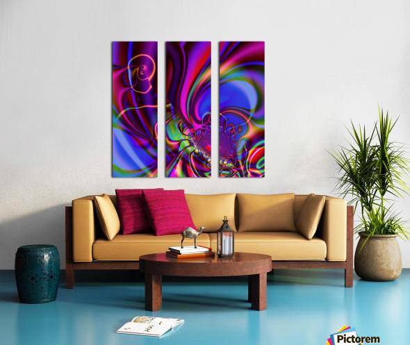 Hasta_El_Fuego_1 Split Canvas print