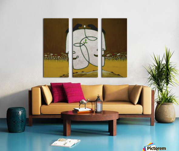 The Face of Nature Split Canvas print