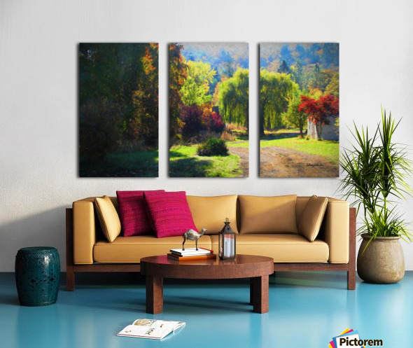 Losing the Leaves Split Canvas print