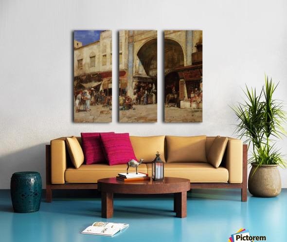 Nagel Split Canvas print