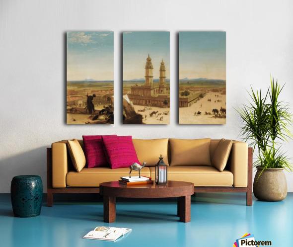 Oriental landscape Split Canvas print