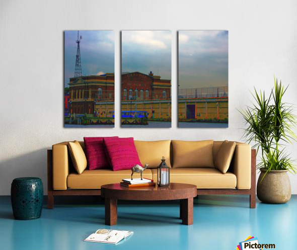 Port of Baltimore MD Split Canvas print