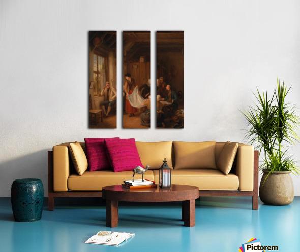 The Pedlar Split Canvas print