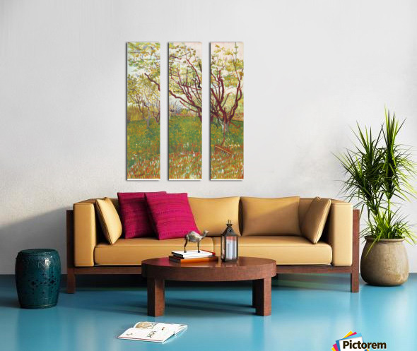 Cherry Tree by Van Gogh Split Canvas print