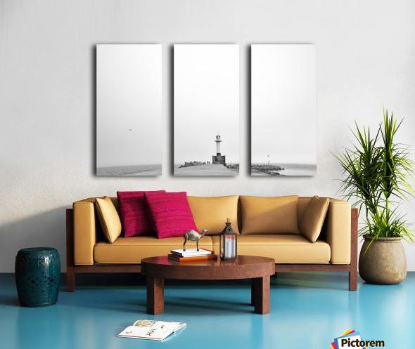 Minimalistic lighthouse Split Canvas print