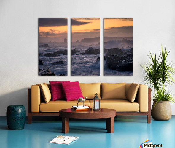 Unforgiving Seas Split Canvas print