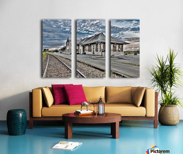 Gare Split Canvas print