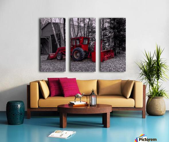 Contraste Split Canvas print