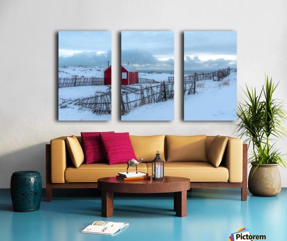 Coastal Beauty Split Canvas print