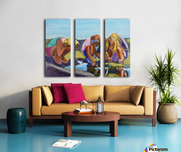 Look Split Canvas print