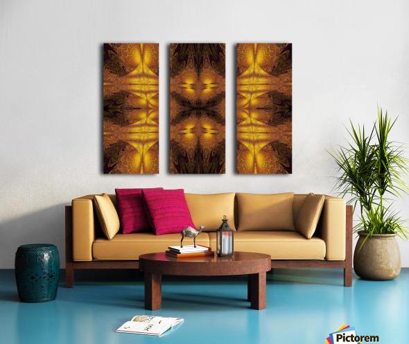Spiritual Sunshine  21 Split Canvas print