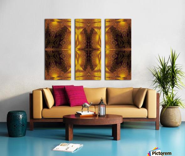Spiritual Sunshine  22 Split Canvas print