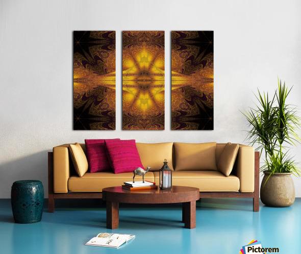 Spiritual Sunshine  23 Split Canvas print