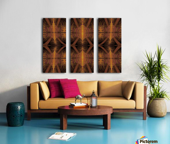 Spiritual Sunshine  28 Split Canvas print