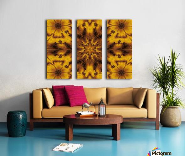 Spiritual Sunshine  31 Split Canvas print