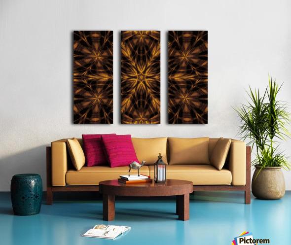Spiritual Sunshine  33 Split Canvas print
