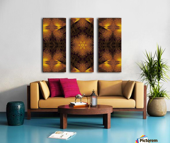 Spiritual Sunshine  38 Split Canvas print