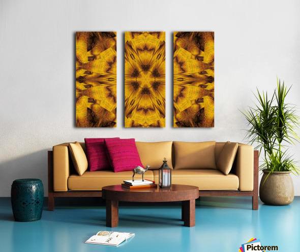 Spiritual Sunshine  39 Split Canvas print