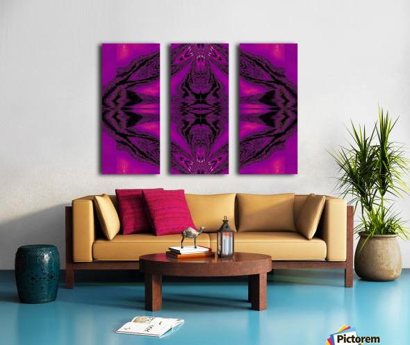 Purple Desert Song 7 Split Canvas print