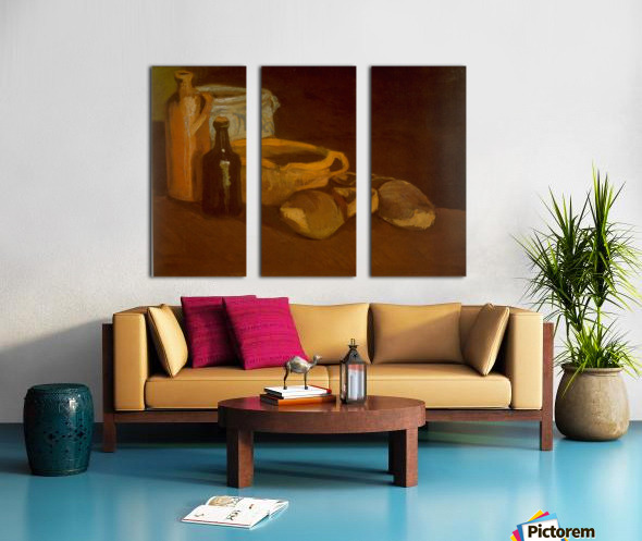 Cogs by Van Gogh Split Canvas print