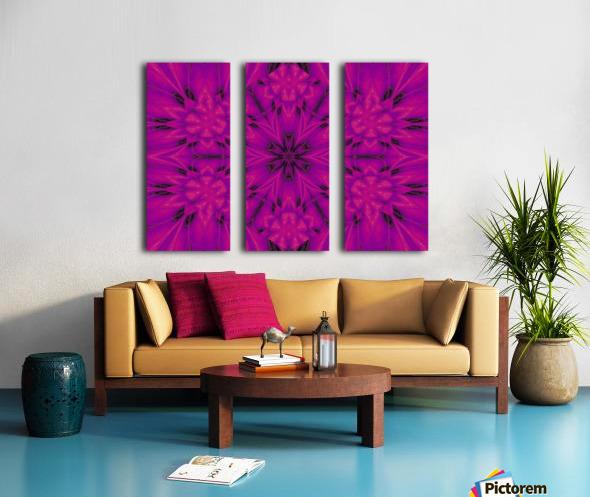 Purple Desert Song 32 Split Canvas print