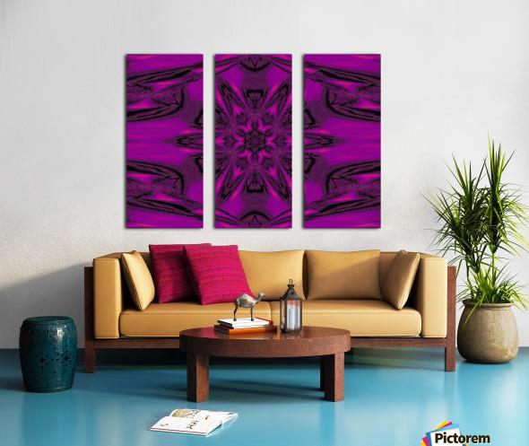 Purple Desert Song 40 Split Canvas print