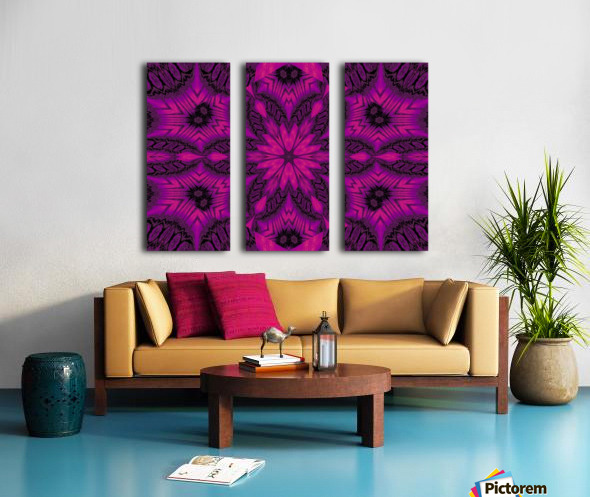 Purple Desert Song 41 Split Canvas print