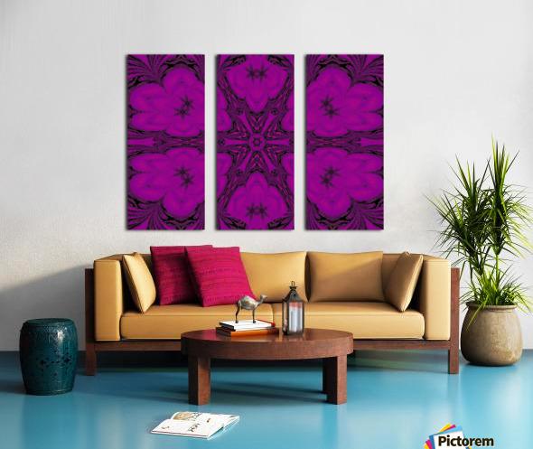 Purple Desert Song 47 Split Canvas print