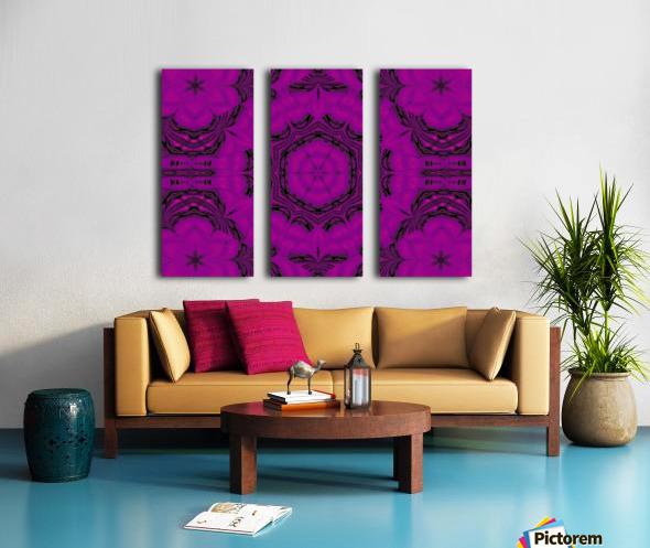 Purple Desert Song 48 Split Canvas print