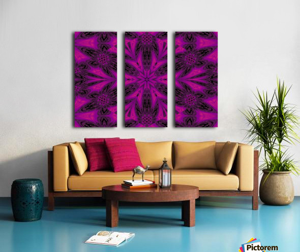 Purple Desert Song 50 Split Canvas print