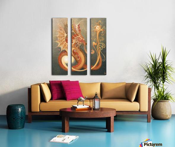 UTO Split Canvas print