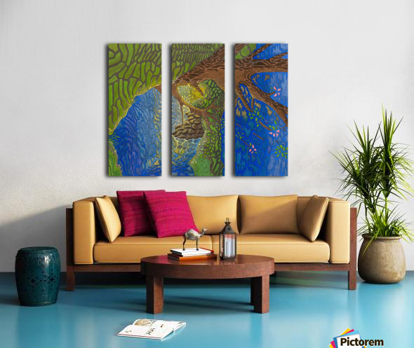 The Forth View Split Canvas print