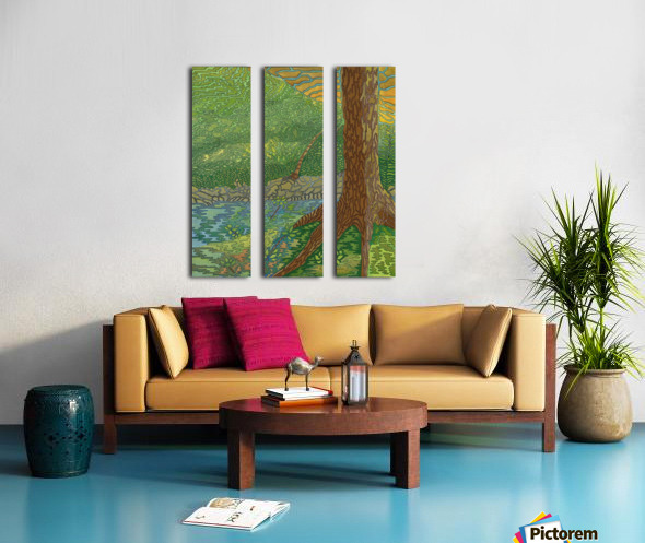 View Point Split Canvas print
