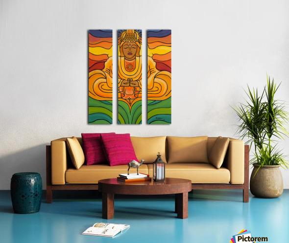 United Light Split Canvas print