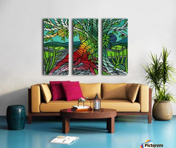 The Giving Tree Split Canvas print