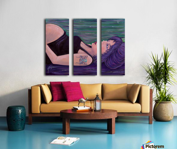Inner Reflections  Split Canvas print