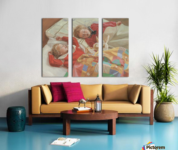 Golden_Slumbers Split Canvas print