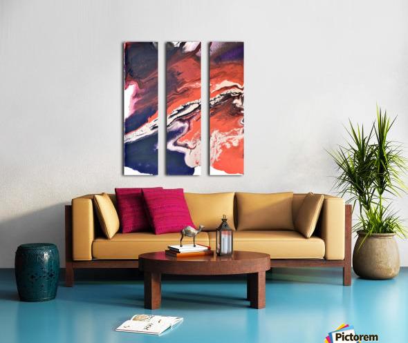 Jax Split Canvas print