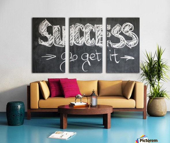 Success Hunters Split Canvas print