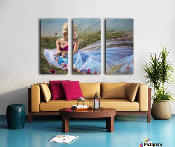 Summer Breeze Split Canvas print