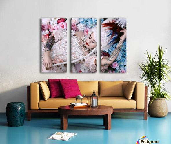 Sleeping Beauty Split Canvas print