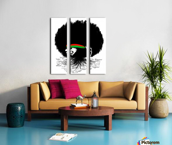 Black History Split Canvas print