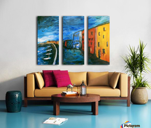 The Boardwalk Original Split Canvas print