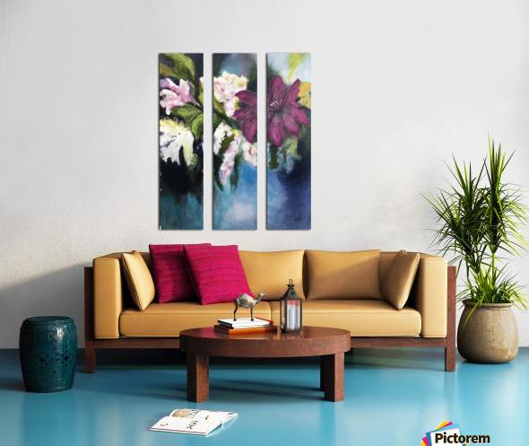 L Eclosion Split Canvas print