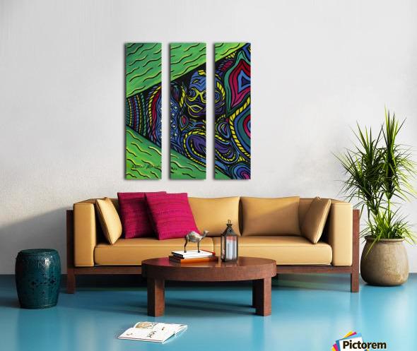 Lifelines Split Canvas print
